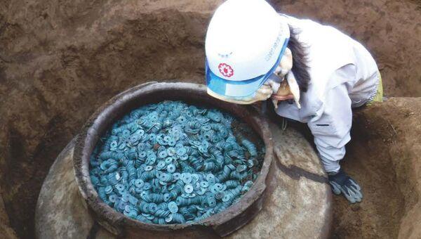 Крупнейший в Японии денежный клад обнаружен в префектуре Сайтама