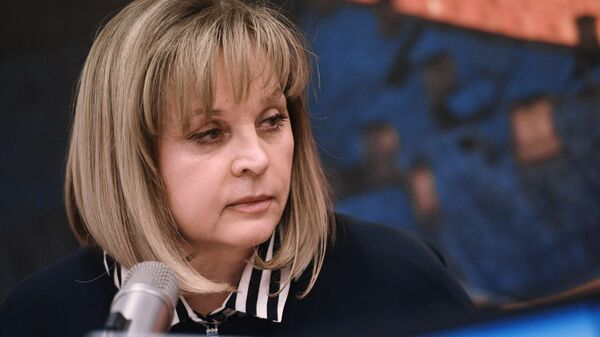 Глава Центральной избирательной комиссии Элла Памфилова. Архивное фото