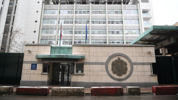 Здание посольства Великобритании в России. Архивное фото