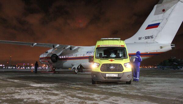 Спецборт МЧС России осуществил санитарно-авиационную эвакуацию трёх тяжелобольных из Грозного и Симферополя в Нижний Новгород и Санкт-Петербург