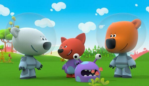 Кадр из мультфильма Ми-ми-мишки