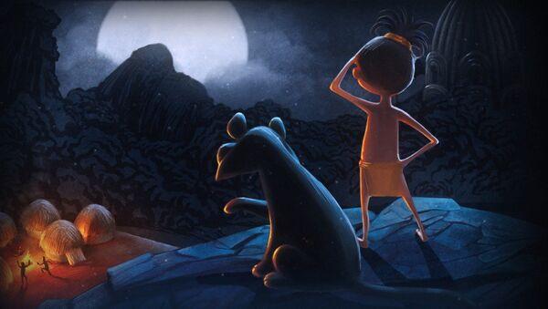 Кадр из мультфильма Волшебный Фонарь