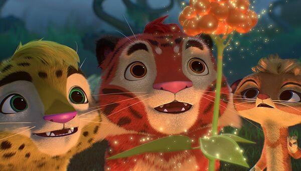 Кадр из мультфильма Лео и Тиг