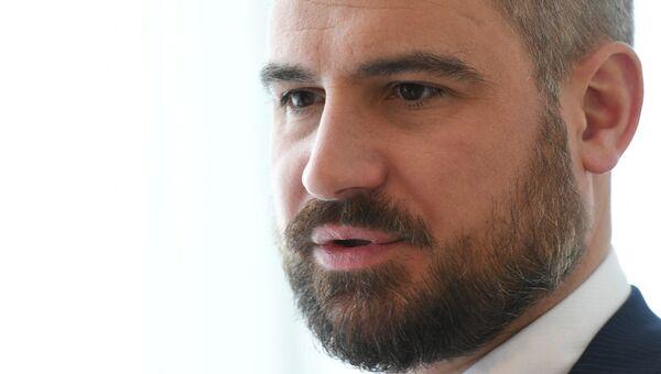 Кандидат в президенты РФ от партии Коммунисты России Максим Сурайкин