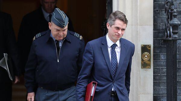 Бывший министр обороны Великобритании Гэвин Уильямсон. Архивное фото
