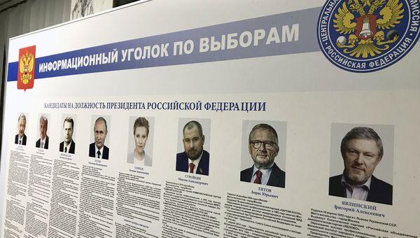 Выборы президента РФ в Дамаске