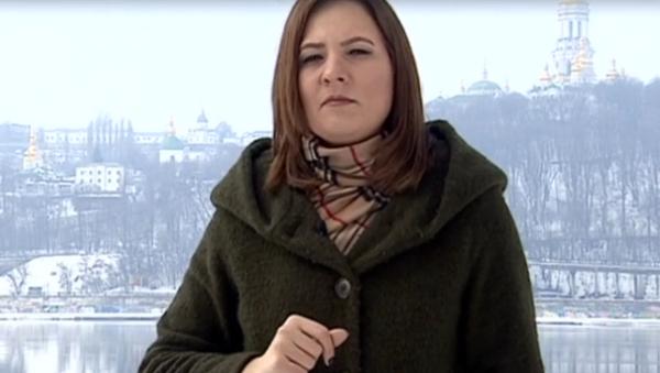 Журналист России-24 Наталья Гончарова