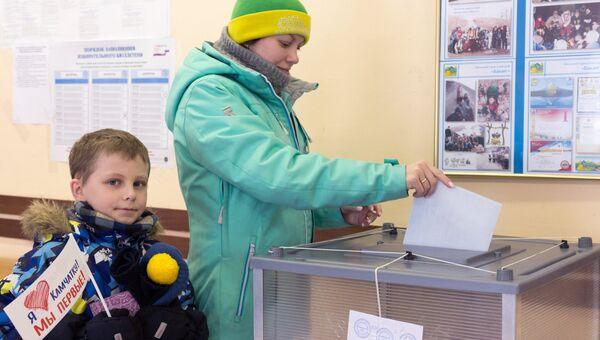 Выборы президента РФ в регионах России. Архивное фото