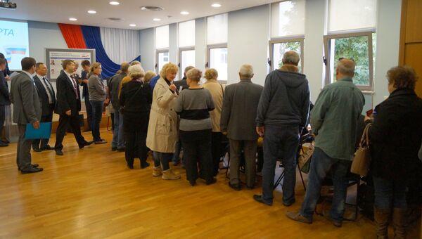 Выборы президента РФ на избирательном участке в Греции. 18 марта 2018
