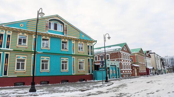 Дома в историческом центре Казани