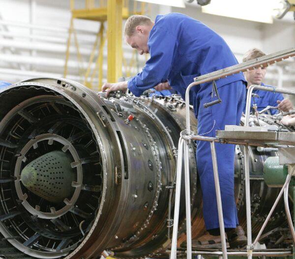 Сборка двигателя