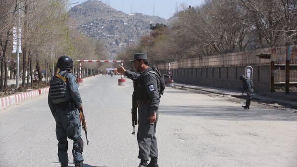 Полиция в Афганистане