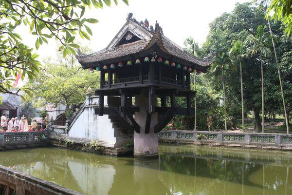 Пагода на столбе