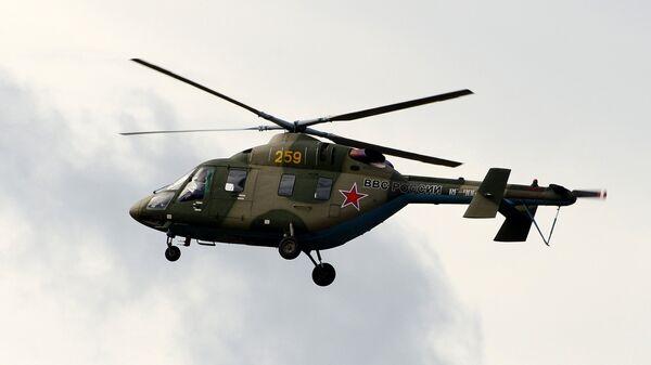 Легкий учебно-тренировочный вертолет Ансат-У