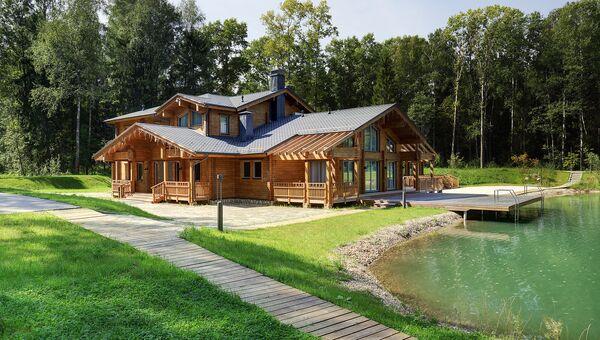 Коттеджный поселок на территории отеля Изумрудный Лес