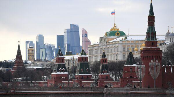 Московский Кремль и Кремлевская набережная