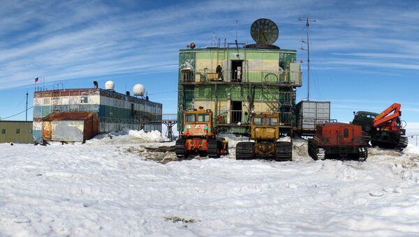 Станция Мирный