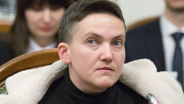Надежда Савченко на заседании комитета по вопросам регламента и организации работы Верховной Рады Украины. 22 марта 2018