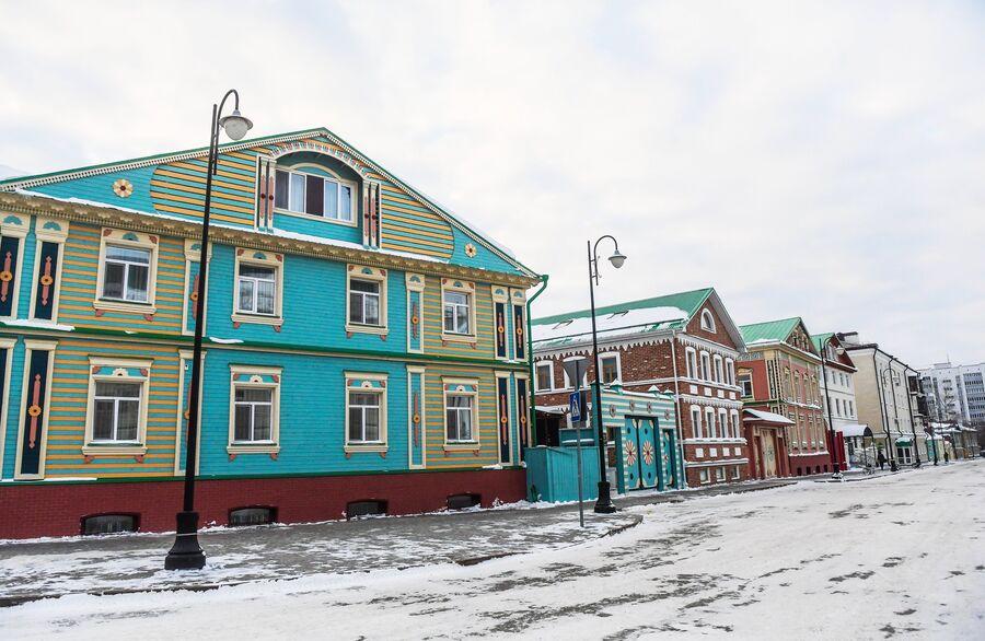 Дома в Старой Татарской слободе