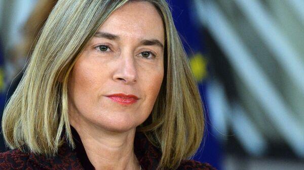 Верховный представитель ЕС по внешней политике Федерика Могерини. Архивное фото