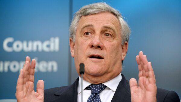 Председатель Европейского парламента Антонио Таяни. Архивное фото