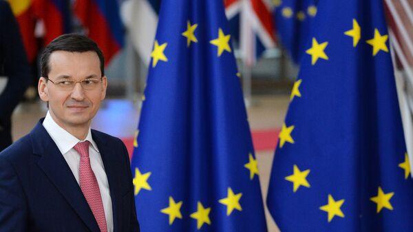 Премьер-министр Польши Матеуш Моравецкий, архивное фото