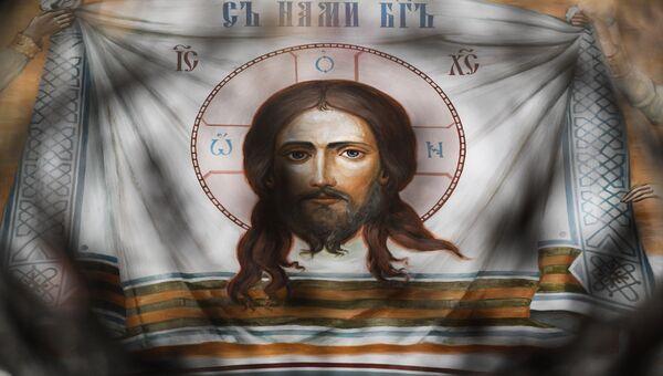 Внутреннее убранство храма Благовещения Пресвятой Богородицы в Сокольниках.