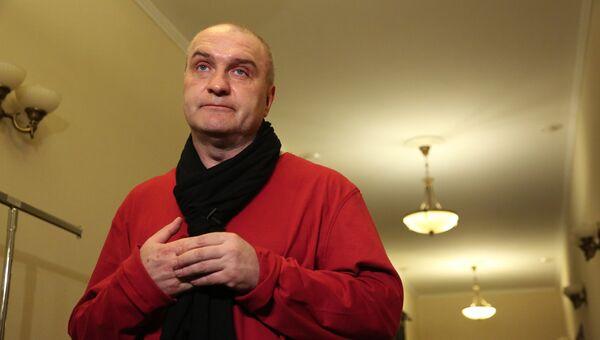 Артист Александр Балуев. Архивное фото