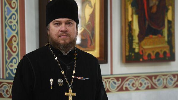 Протоиерей Михаил Васильев, настоятель храма Благовещения Пресвятой Богородицы в Сокольниках.
