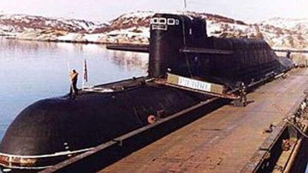 Стратегическая атомная подлодка Северного флота Рязань