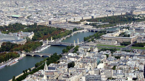 Вид Парижа