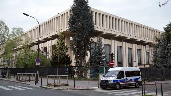 Здание посольства РФ во Франции. Архивное фото