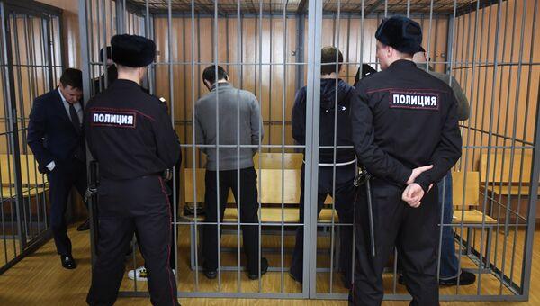 Оглашение приговора участникам преступной группировки Захария Калашова. 27 марта 2018