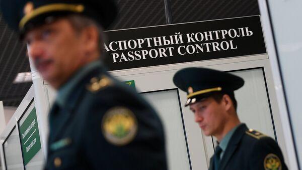 Зона паспортного контроля. Архивное фото