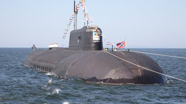 АПЛ К-186 Омск