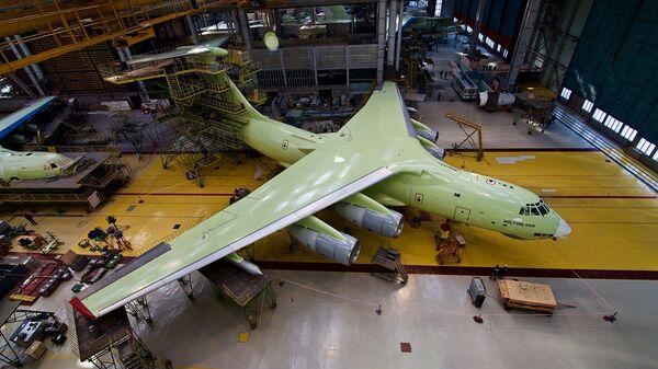 Самолет Ил-78М-90А в Ульяновске