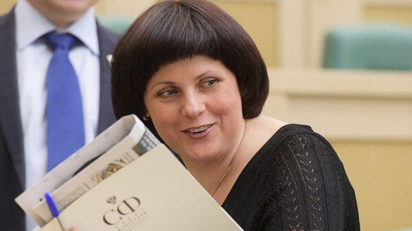 Заместитель председателя комитета Совета Федерации по конституционному законодательству и государственному строительству Елена Афанасьева
