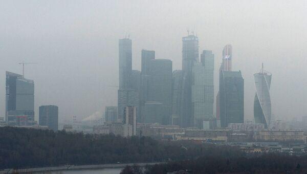Смог в Москве. Архивное фото