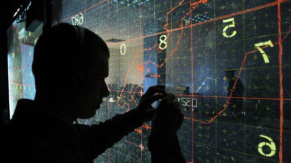 Карта военных учений