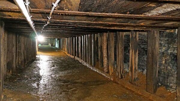 Забой угольной шахты
