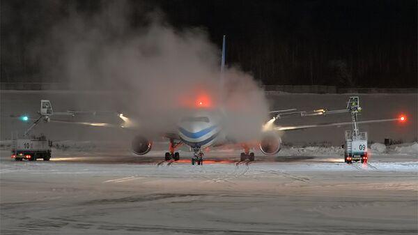 Самолет авиакомпании Tajik Air