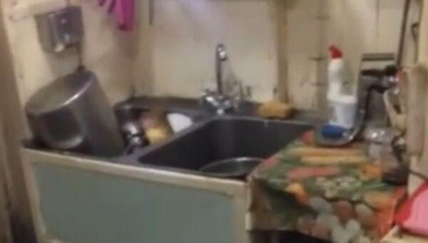 Адвокат задержанного на Украине капитана российского судна Норд показал быт моряка