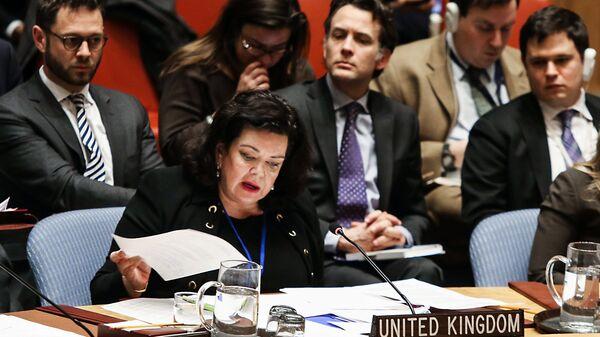 Постоянный представитель Великобритании при ООН Карен Пирс. Архивное фото