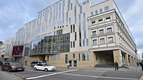 Новое здание театра Олега Табакова на Малой Сухаревской площади
