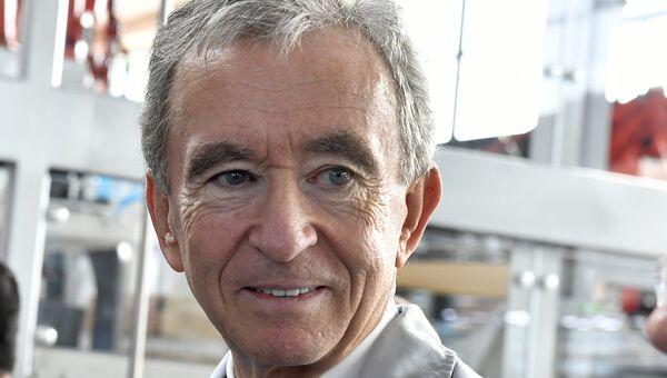 Президент группы компаний Louis Vuitton Moët Hennessy Бернар Арно