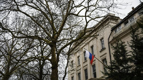 Здание российского посольства в Лондоне