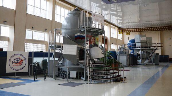 Тренажер динамических режимов полета ТДК -7СТ5 в Центре подготовки космонавтов имени Ю. А. Гагарина