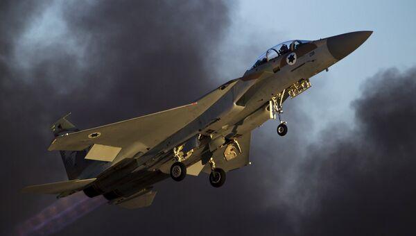 Истребитель F-15 ВВС Израиля