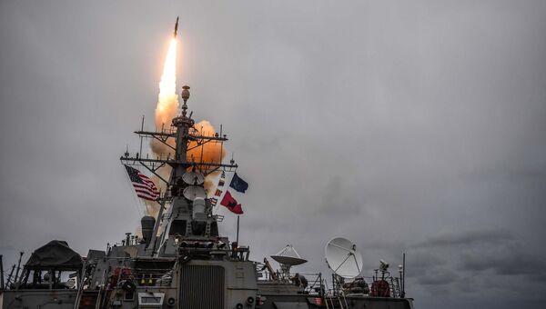 Американский эсминец USS Donald Cook. Архивное фото