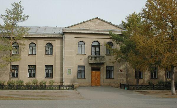 Здание начальной школы в селе Беляевка